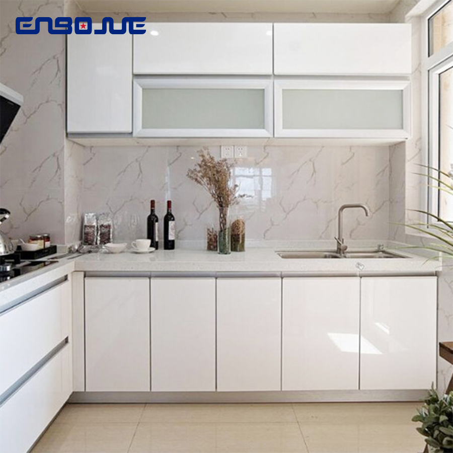 0 4x3M Kitchen Cabinets Refurbished Sticker Self Adhesive Solid Color Wallpapers Furniture Refrigerator Waterproof Wall Stickers in Wall Stickers from Home Garden