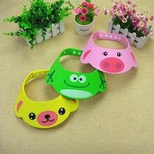 Adjustable Baby Hat Toddler Kids Shampoo Bathing Shower Cap Wash Hair Shield Direct Visor Caps for Children Baby Care