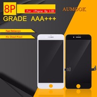 10PCS LOT Quality AAA No Dead Pixel LCD For IPhone 8 Plus LCD Touch Screen Digitizer