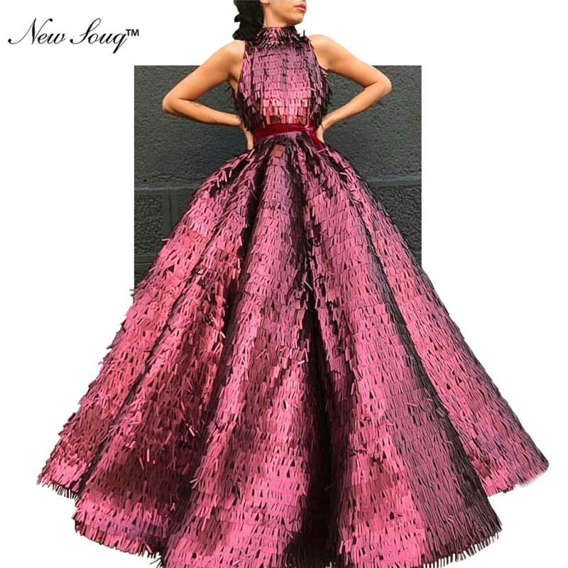 2019 New Arrival Evening   Dress   Formal Gowns Sequin Long   Prom     Dresses   Dubai Arabic Vestido De Festa Islamic Dubai African   Dress