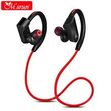 M.uruoi Bluetooth 4.1 Headset Wireless Headphones Noise Isolation Earphones Support Apt-x Earbud Waterproof For Samsung iphone