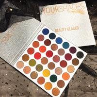 Beauty Glazed New 36 color Pearlescent Eyeshadow Palette Glitter Eyeshadow Long lasting Easy To Wear Makeup Pallete