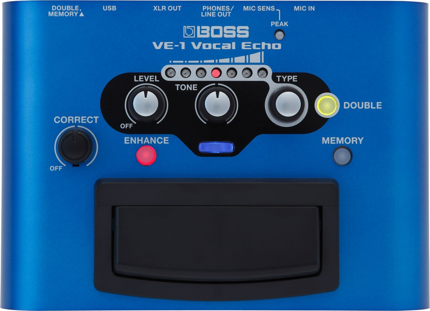 Boss by Roland VE 1 Vocal Echo Effect Pedal
