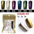 WHOLESALE Glitter 6X MIRROR POWDER NAILS Holographic Nail Powder Vtirka Chrome Nail Polish Nail Art Glitter Pigment Glitters