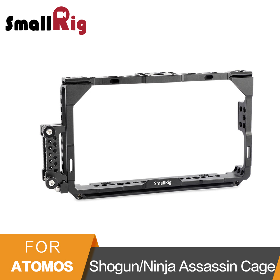 SmallRig Monitor Cage With Nato Rail for Atomos Shogun/Ninja Assassin 7 Inch Monitor Lcd Screen 1788