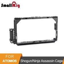 Monitor de SmallRig Gaiola Com a Nato Rail para Atomos Shogun/Ninja Assassin 7 Polegada Tela de Monitor Lcd-1788