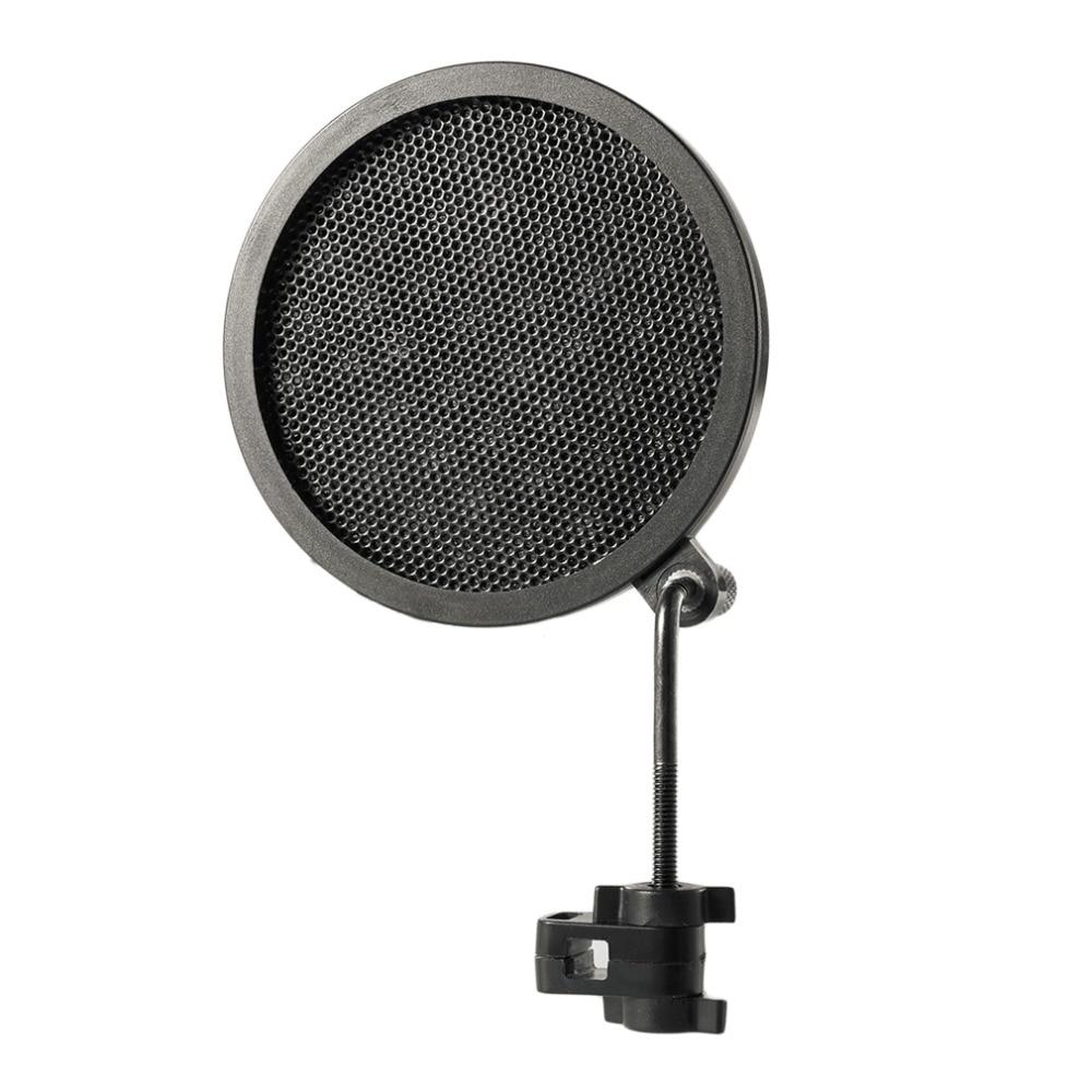 Design; In Ps-2 Doppel Schicht Studio Mikrofon Mic Wind Bildschirm Filter/swivel Mount/maske Gescheut Für Sprechen Aufnahme Novel