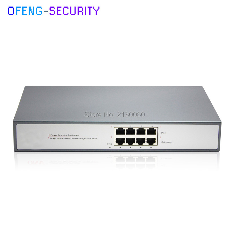 poe injector Gigabit POE Injector with 4Port Gigabit RJ45 input, 4x PoE output. Support IEEE802.3AF/AT, single port output 25.5Wpoe injector Gigabit POE Injector with 4Port Gigabit RJ45 input, 4x PoE output. Support IEEE802.3AF/AT, single port output 25.5W