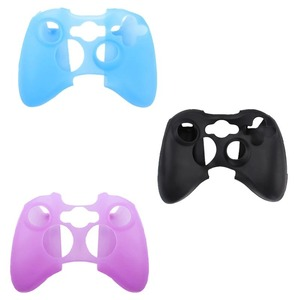 Image 2 - 10 Colors Joystick Gel Skin Silicone Cover for XBOX 360 Wireless Game Controller Case Cover silicona Free Shipping