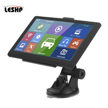 7 Inch Display HD Capacitive Screen Car GPS Navigation FM Support Multilanguage Free Maps Updates 715