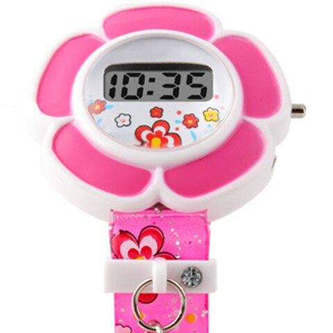 Children Watches Cute Flower Cartoon Children Silicone Wrist Watches Digital Wrist Watch For Kids Boys Girls Watches Wrist Watch Karachi
