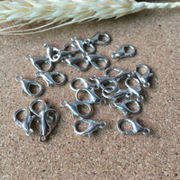 Free Shipping 300pcs Silver Lobster Clasp Parrot Clasp Fit Jewelry Accessories Chain Necklace Bracelet DIY Making