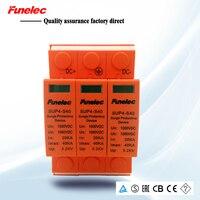 SPD 40KA 1000V DC Surge Protector protection Low voltage Arrester Device household Solar power system