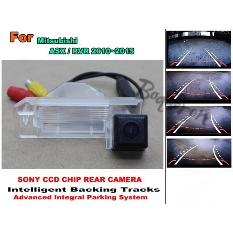 For Mitsubishi ASX RVR 2010 2015 Car Trajectory Intelligent Tracks Reversing HD CCD Night Vision Car