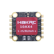 HAKRC 2S 10A 4 в 1 1-2S BLHeli_S/Dshot 600 ESC электронный регулятор скорости 16*16 мм для 90 мм RC гоночный Дрон