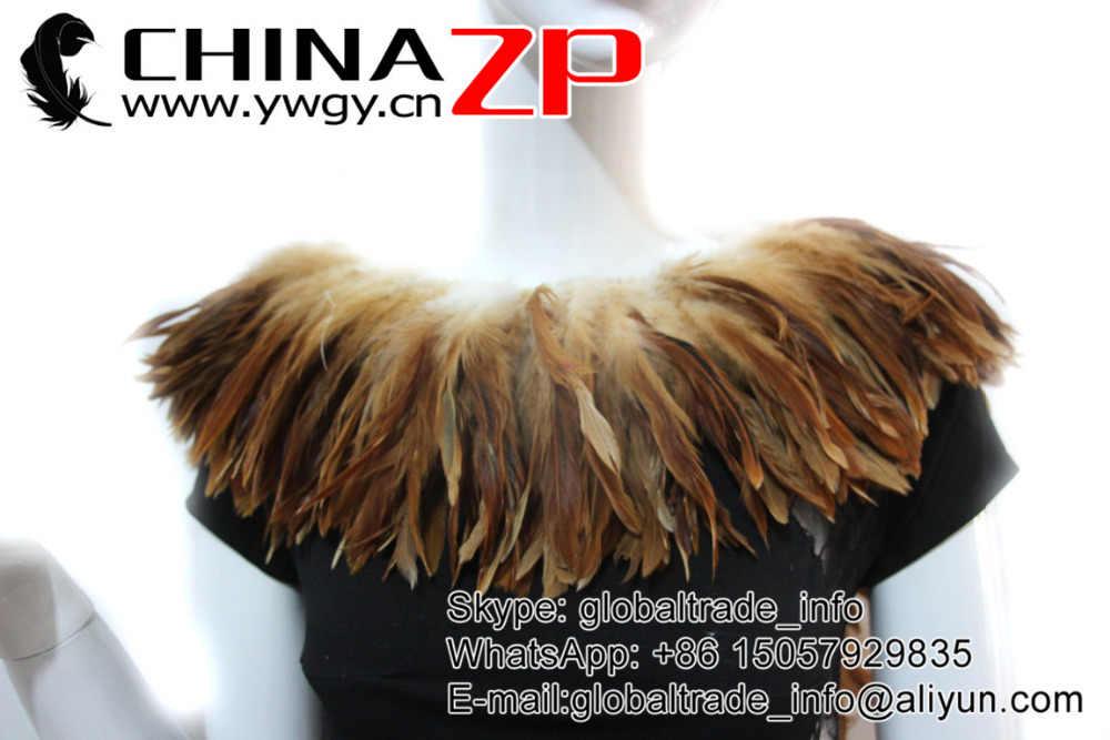 CHINAZP Feathers Xâu Thành Chuỗi 800 pieces/màu/bó Decolor Hiếm Tự Nhiên Nâu Bán Buôn Xâu Thành Chuỗi Lông Gà cho Quan Hệ Tình Dục Cosplay trang phục