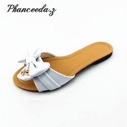 Новинка 2019 года; модные Сабо женские сандалии с открытым носком на низкой танкетке; Летняя обувь в богемном стиле; женские босоножки;
