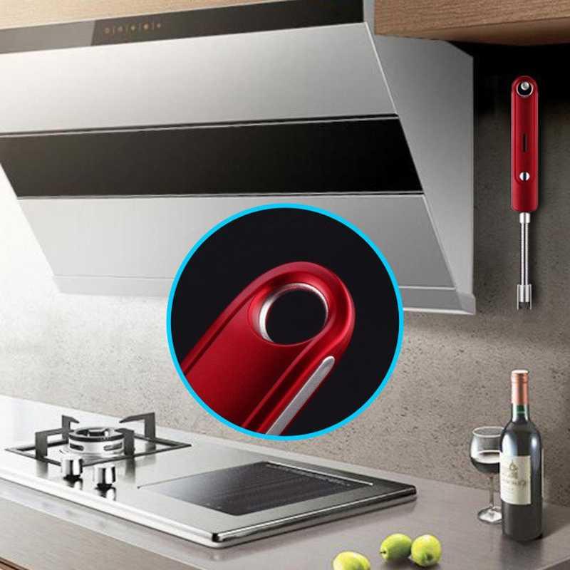360 Derajat USB Arc Plasma Lebih Ringan Flexional USB Electric Lighter Logam Tahan Angin Pemantik Rokok untuk BBQ Dapur