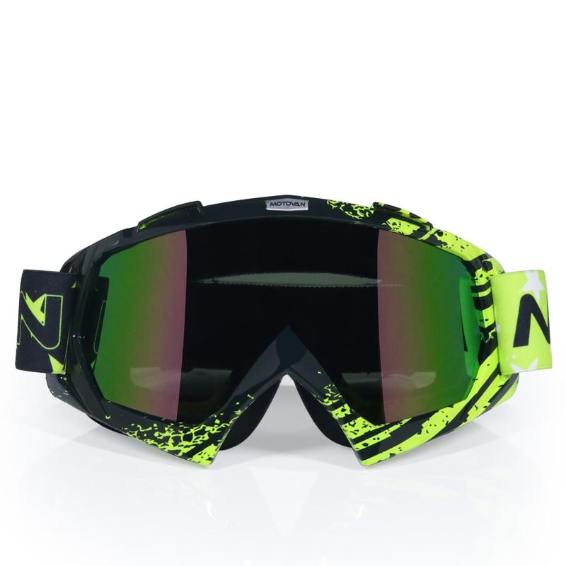 1pcs Enduro Goggles Motocross ATV Bike Off-Road Dirt Race Riding Eyewear Glasses