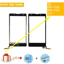 For Nokia XL Dual Sim RM-1030 RM-1042 Touch Screen Touch Panel Sensor Digitizer Front Glass Outer Lens Touchscreen NO LCD 4 7 inch touchscreen for htc desire 526g dual sim touch screen panel digitizer glass lens repair replacement free shipping