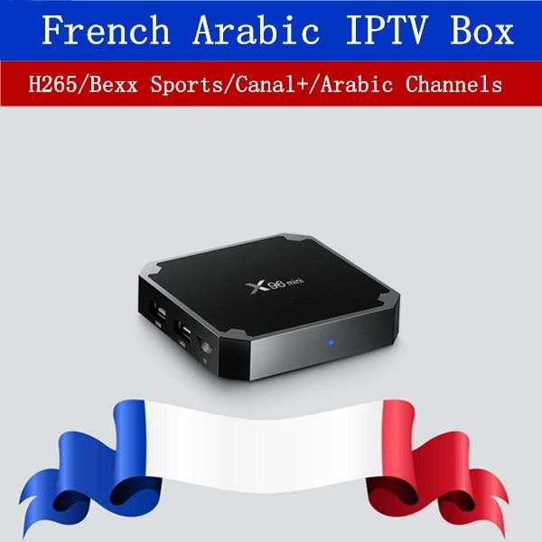 X96 Mini IPTV Box French Europe Belgium Arabic IPTV 1200+Channel VOD for M3u Smart TV NEOTV Android 7.0 TV Box Set top Box android italy iptv box x96 mini europe iptv 10000 italy vod 2g16g android 7 1 tv box media player set top box v88 french iptv