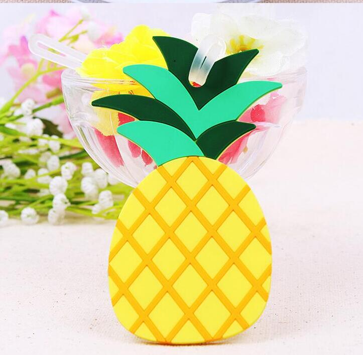 100 PCS Free Shipping Wedding Party Favor Gifts New Lovely Pineapple Luggage Tag