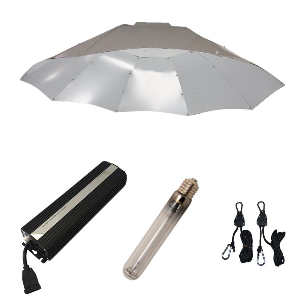 Professional Lighting 1000W Grow Lights Kits With Parabolic