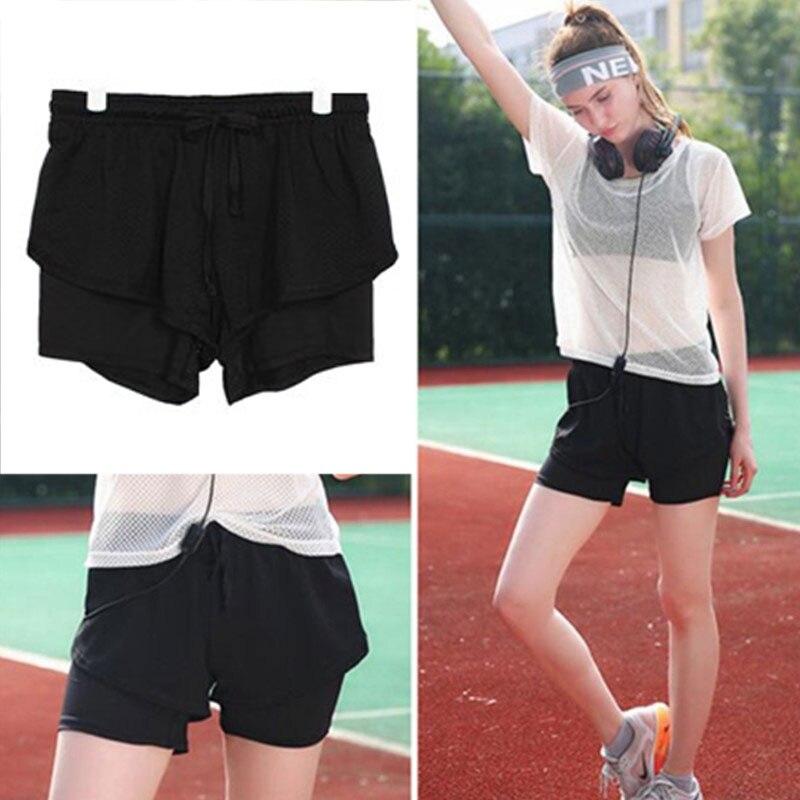 @1  Мягкие шорты YOGA Pantskirt из хлопка Blend Lady 3 Colours Gym ①