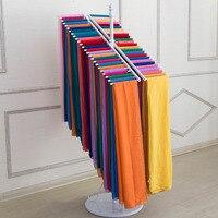 Кованые Костюмы магазине двухрядные шарф носить Шарфы для женщин Дисплей консоли вешалка повесить шарф Полки za4833