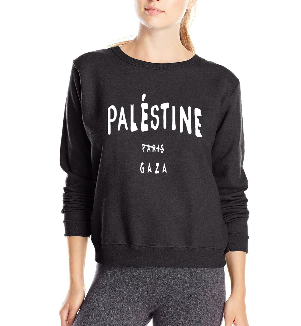 gift for people of Gaza women sweatshirt Gaza Palestine doesnt belong to Paris 2018 autumn winter style slim fit woman hoodies