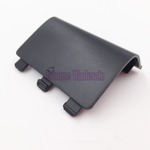 Image 4 - [20 teil/los] Hohe Qualität Schwarz Farbe Batterie Abdeckung Fall Batterie Pack Ersatz für Microsoft Xbox eine Reparatur
