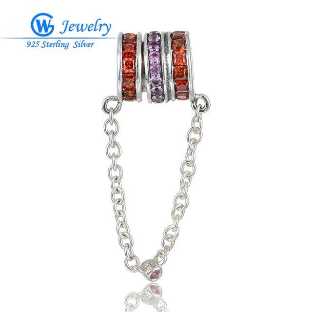Fashion Womens Jewelry 925 Sterling Silver Clear Cz Crystal Silver Pendant GW Fine Jewellery X395H20