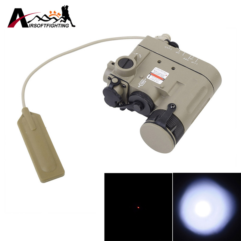 купить Element DBAL-D2 Battery Case Red Dot Laser with LED Flashlight and IR illuminator Hunting Optics 20mm Rails по цене 3263.63 рублей