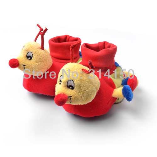 FREE SHIPPING----Baby Girl Animal Shoes Baby Boy Winter Shoes First Walkers Warm Soft Sole Toddler Non-Slip Shoes 1pair