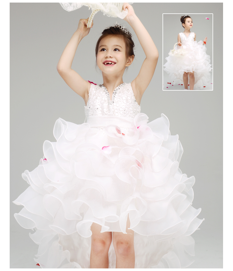 Wedding dresses for little girls great ideas for fashion for Little flower girl wedding dresses