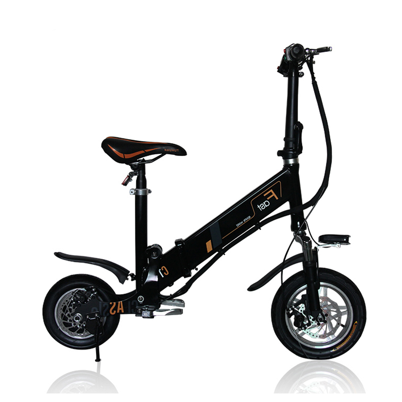mini electric folding bicycle 12inch folding bike instead. Black Bedroom Furniture Sets. Home Design Ideas