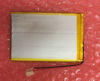"""Nowy uniwersalny bateria do 7 """"RoverPad Sky chwały S7 3G iść C7 iść S7 bateria tableta wewnętrzna 3000 mah 3.7 V li ion polimerowy + śledzenie w Baterie i zasilanie do tabletów od Komputer i biuro na"""