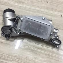 Масляный радиатор двигателя и фильтр в сборе алюминиевый для Cruze Sonic Aveo G3 Orlando Opel Vauxhall Astra 93186324 55353322 12992593