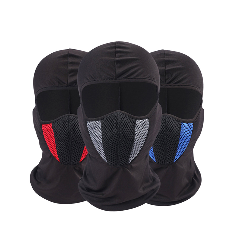 2019 Moto Face Mask Motorcycle Face Shield Tactical Airsoft Paintball Cycling Bike Ski Army Moto Helmet Full Face Mask(China)
