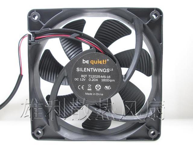 Entrega grátis. T12025-MS-16 0.20A 12 CM ventilador ultra-silencioso chassis fonte de alimentação