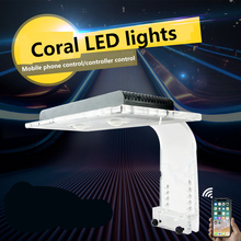 Zetlight AQUQ WIFI LED.ZA1201 ZA1201L ZA1201WIFI Full spectrum seawater coral lamp, through APP control light .SPS LPS LED lamp