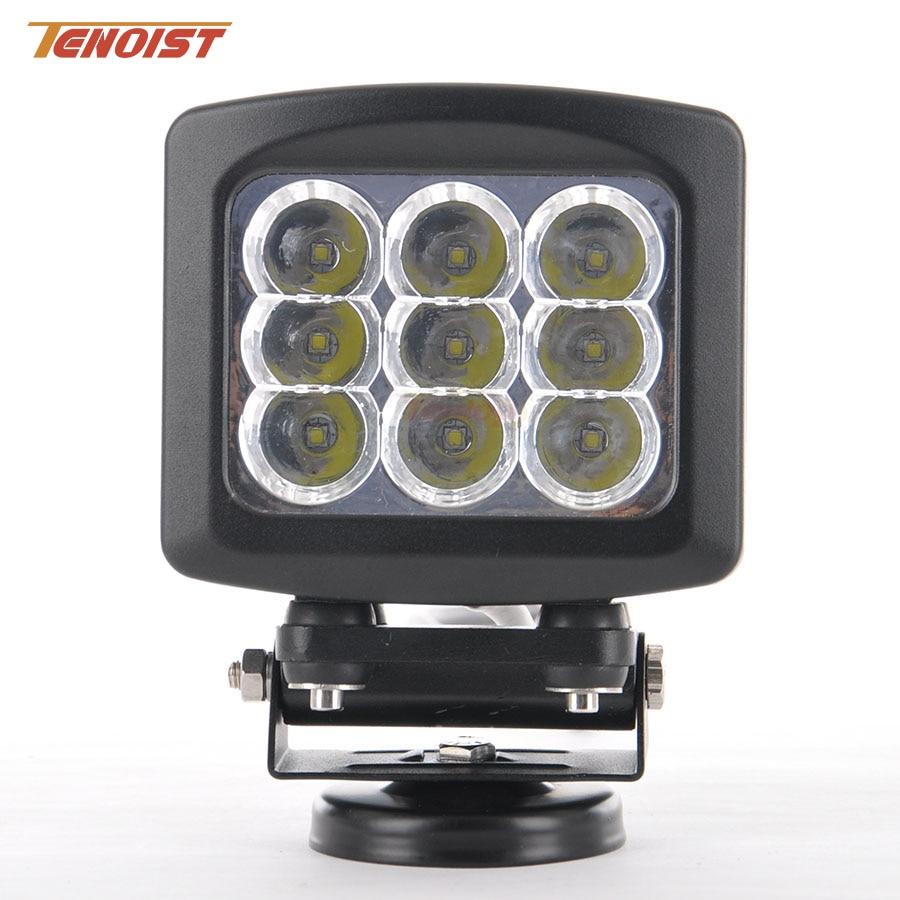 Super Bright 5.3 Inch 90W LED Headlight Bumper Work Light For 4*4 Offroad ATV SUV Truck Wrangler F150 G55 Defender 12V 24V hot sale 9 inch 40w single row led light bar for offroad wrangler 4 4 suv atv 12v 24v