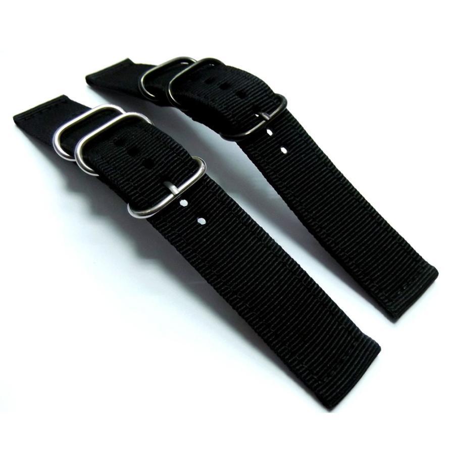 SUNWARD Hot Unique Fashion Canvas 20mm Wrist Watch Band Strap Drop Shipping F12