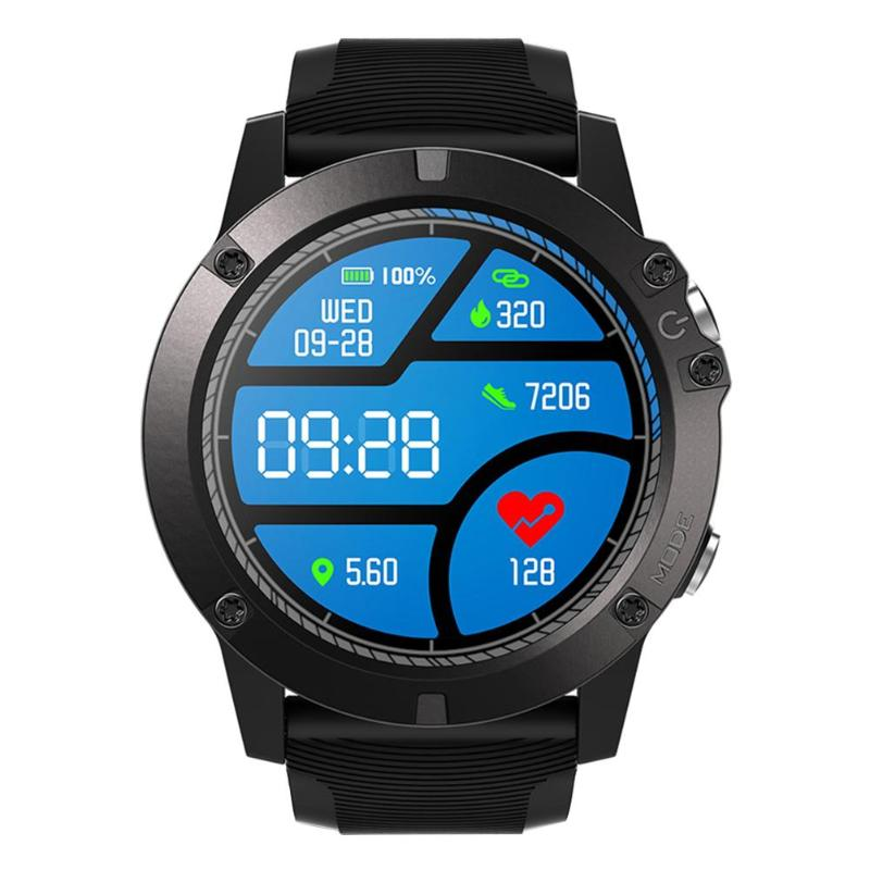 Zeblaze VIBE3/3PRO Bluetooth Smartwatch Heart Rate IP67 Weather Remote Music Men Sports Watch Smart For IOS Android Smart Watch orologio delle forze speciali