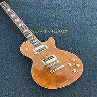 Hot sale slash guitar,zebra wax pickups,high quality flamed maple veneer top,AAA mahogany wood.LP guitar,with slash signature