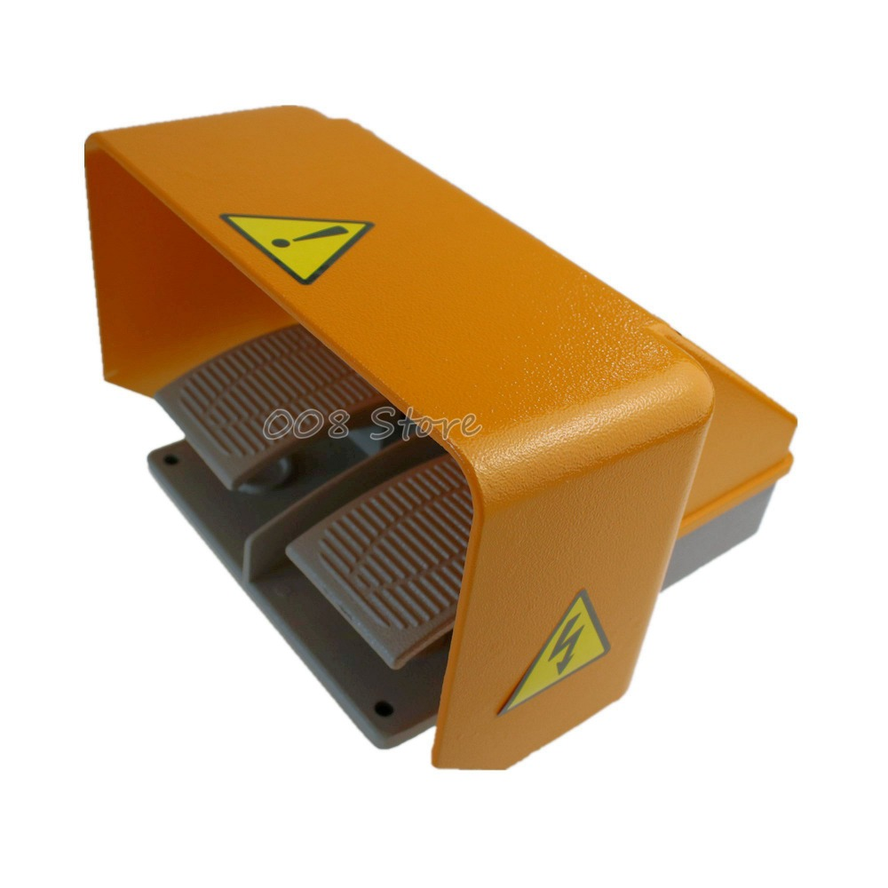 YDT1-18 Foot Switch Pedal Foot Control Switch YDT1-18 double pedal use for bending machine punch цена 2017