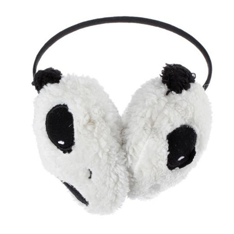 ccf3077cf533c Gorący Śliczne Duże Puszyste Pluszowe Futerko Panda Nauszniki Zima Ucho  Cieplej Panie Kobiety Dziewczyny