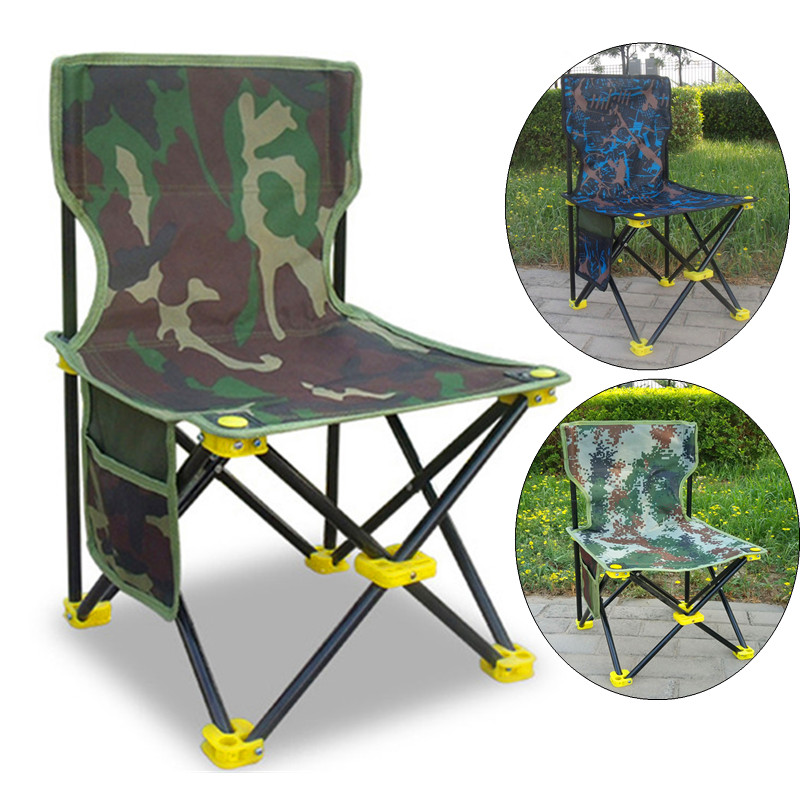 Multi-function Portable Folding Fishing Chair Stool Aluminum Alloy Outdoor Hiking Camping Small Fishing Chair