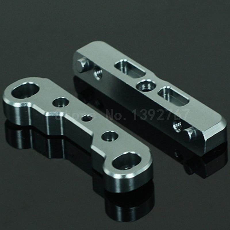 2Pcs RC Car Upgrade HoBao OP-0115 Hyper VS Front&Rear Suspension Arm Holder For 1/8 Scale Models Truck RC Remote Control Car CNC