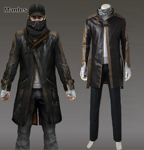 anime clothes for dogs: Aliexpress.com : Buy Aiden Pearce Cosplay Costume Watch